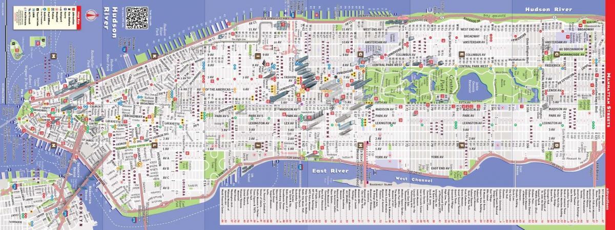 kart manhattan Kart Manhattan   kart Nyu Yorkun Manhattan (Nyu   York   ABŞ) kart manhattan